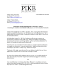 [PIKE] Press Release Aug 16